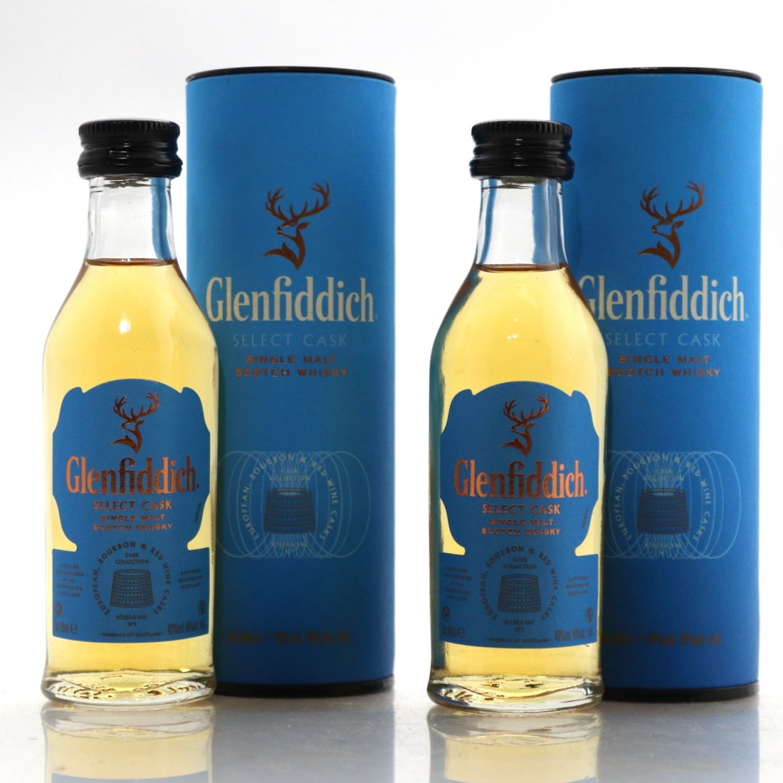 Glenfiddich Select Cask Miniature 2 x 5cl