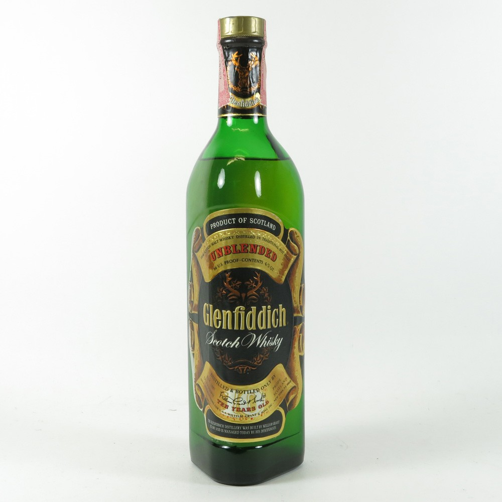 Glenfiddich 10 Year Old Unblended front