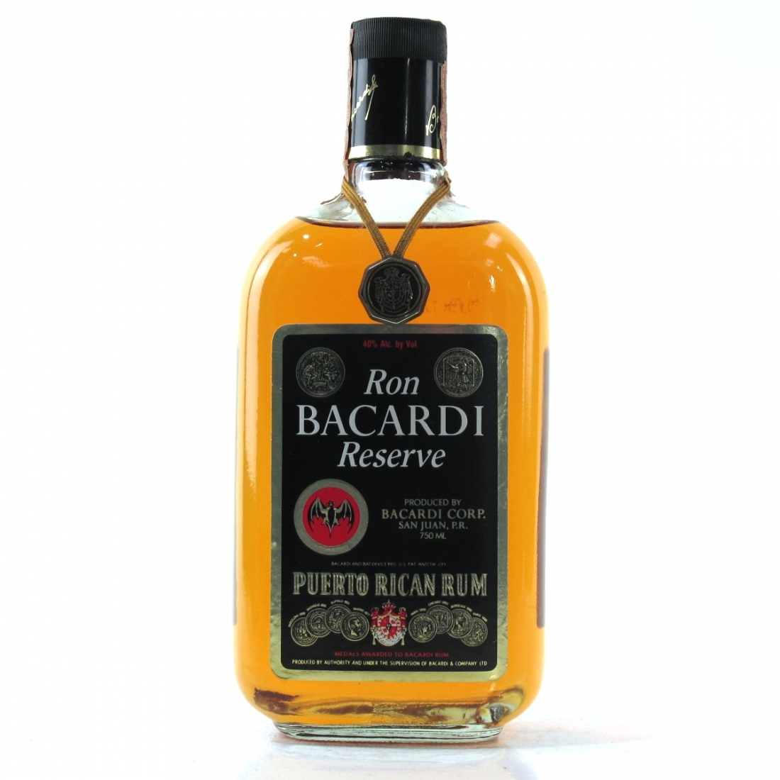 Bacardi Reserve / Puerto Rican 75cl
