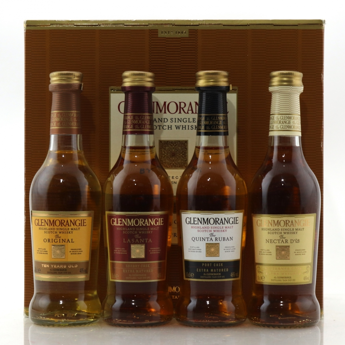 Glenmorangie Four Expressions Collection 4 x 10cl