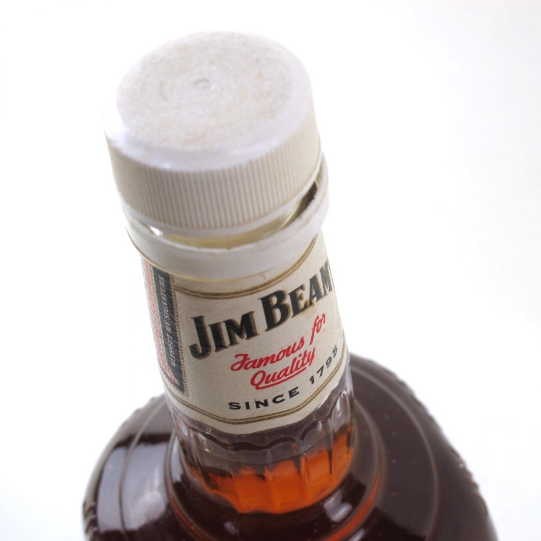 Jim Beam White Label 1 Litre 1980s