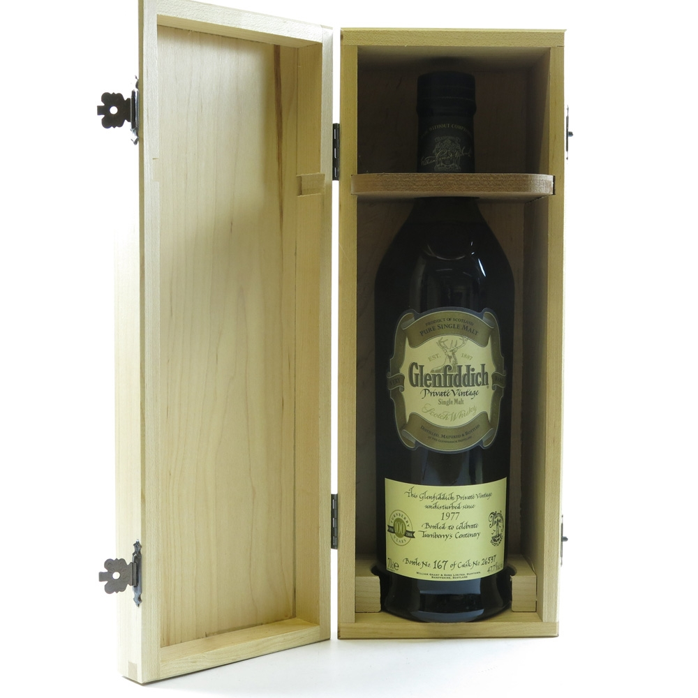Glenfiddich 1977 Private Vintage Turnberry's Centenary Open