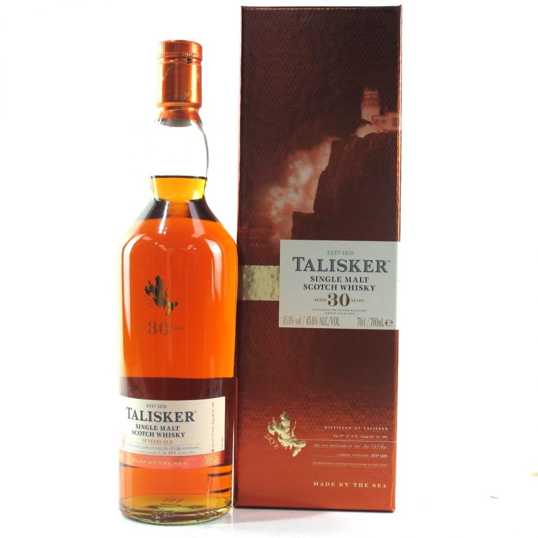 Talisker 30 Year Old 2015 Release