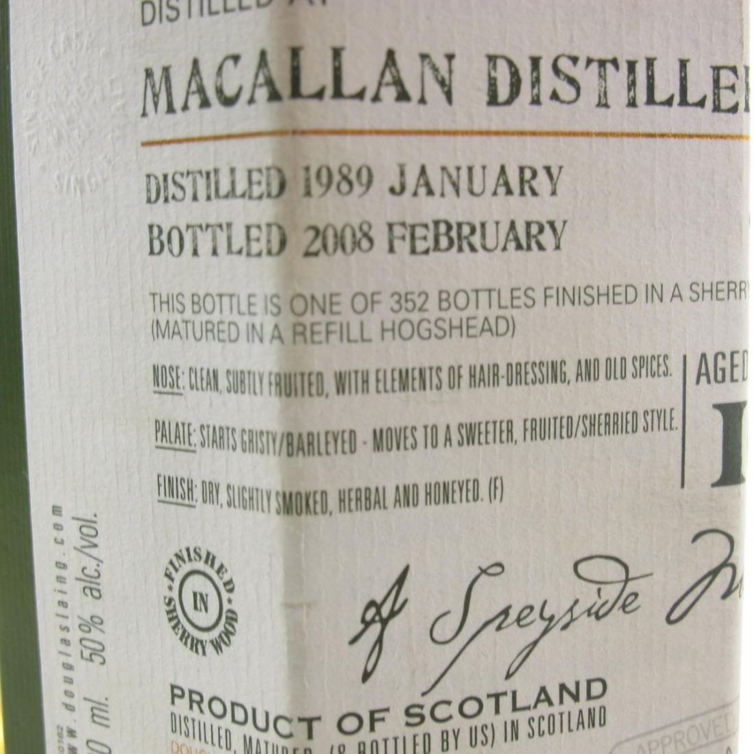 Macallan 1989 Douglas Laing 19 Year Old