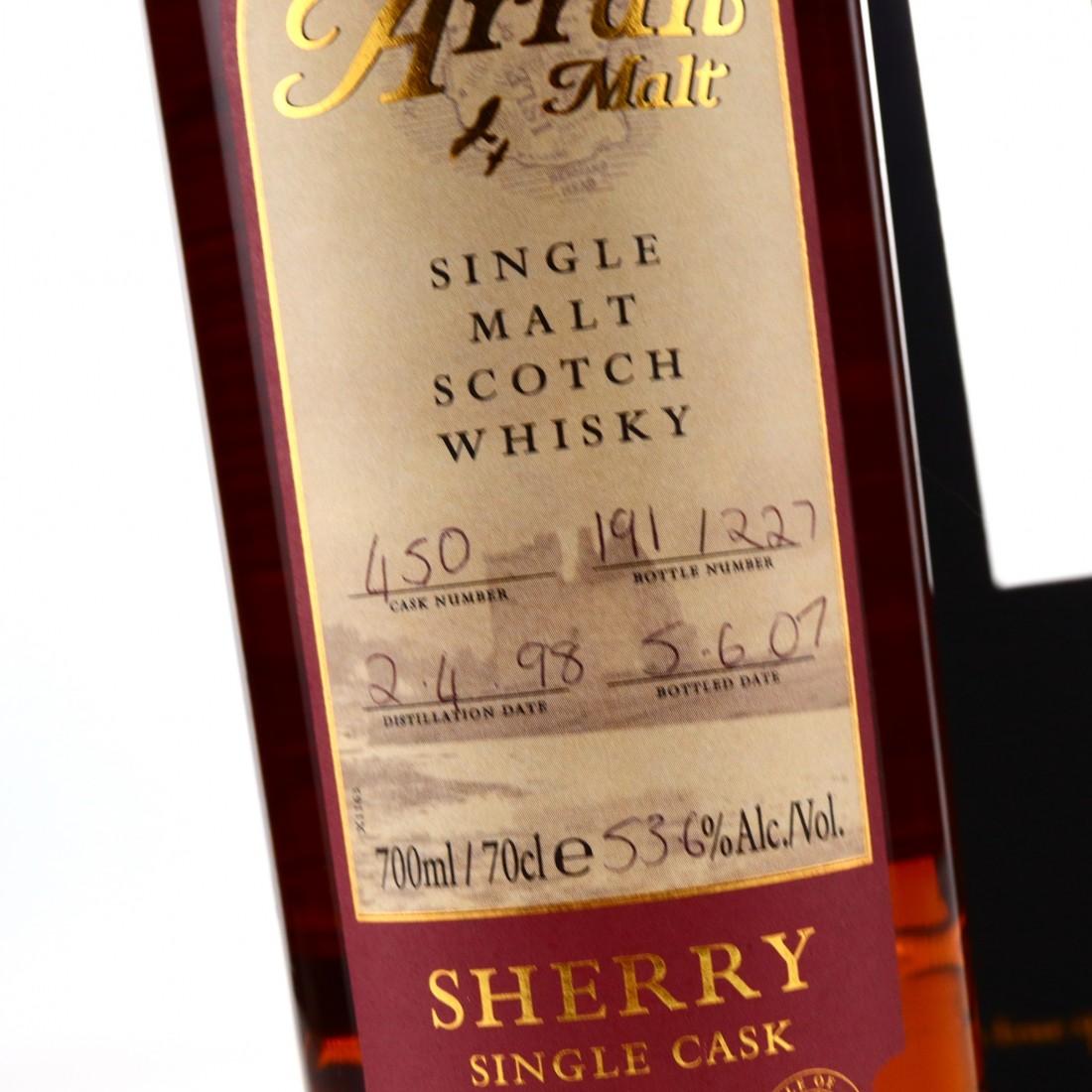 Arran 1998 Single Sherry Cask