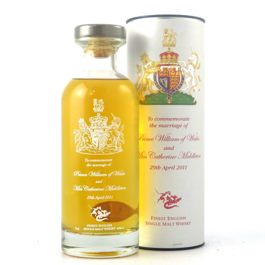 English Whisky Co Royal Wedding