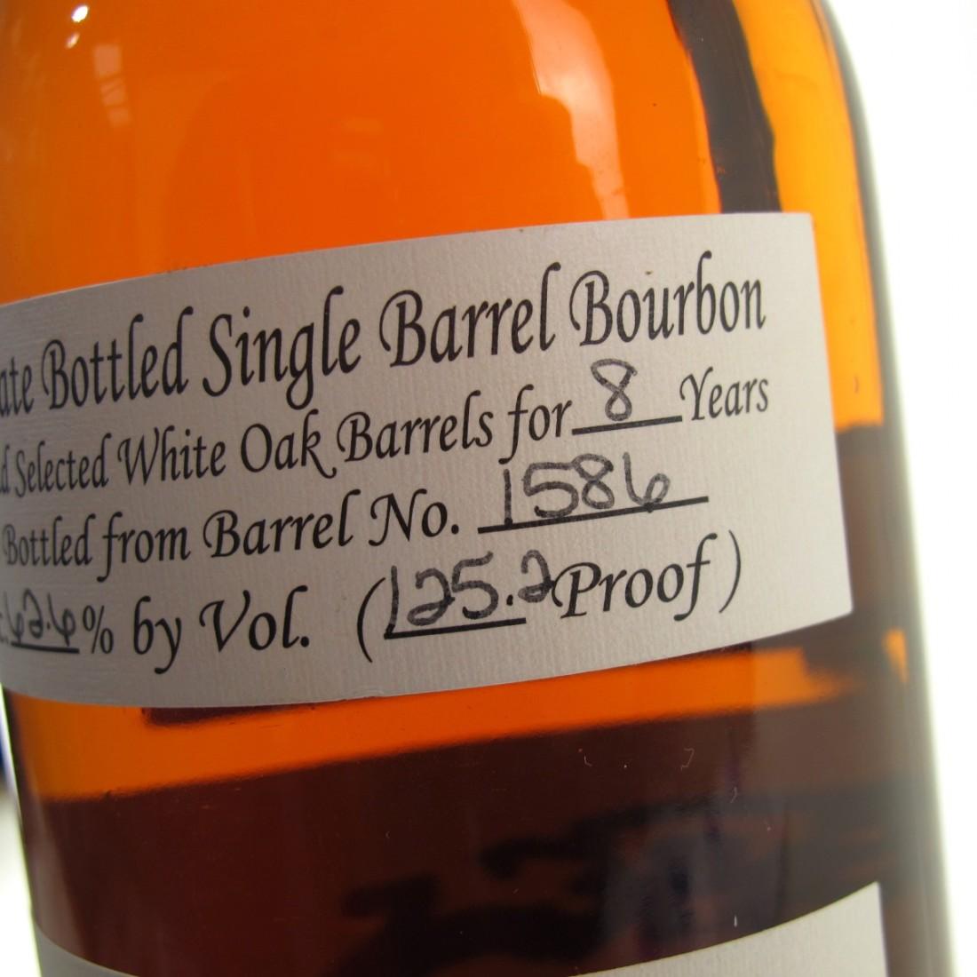 Willett Family Estate 8 Year Old Single Barrel Bourbon #1586 / Lion's Share Vol. 1