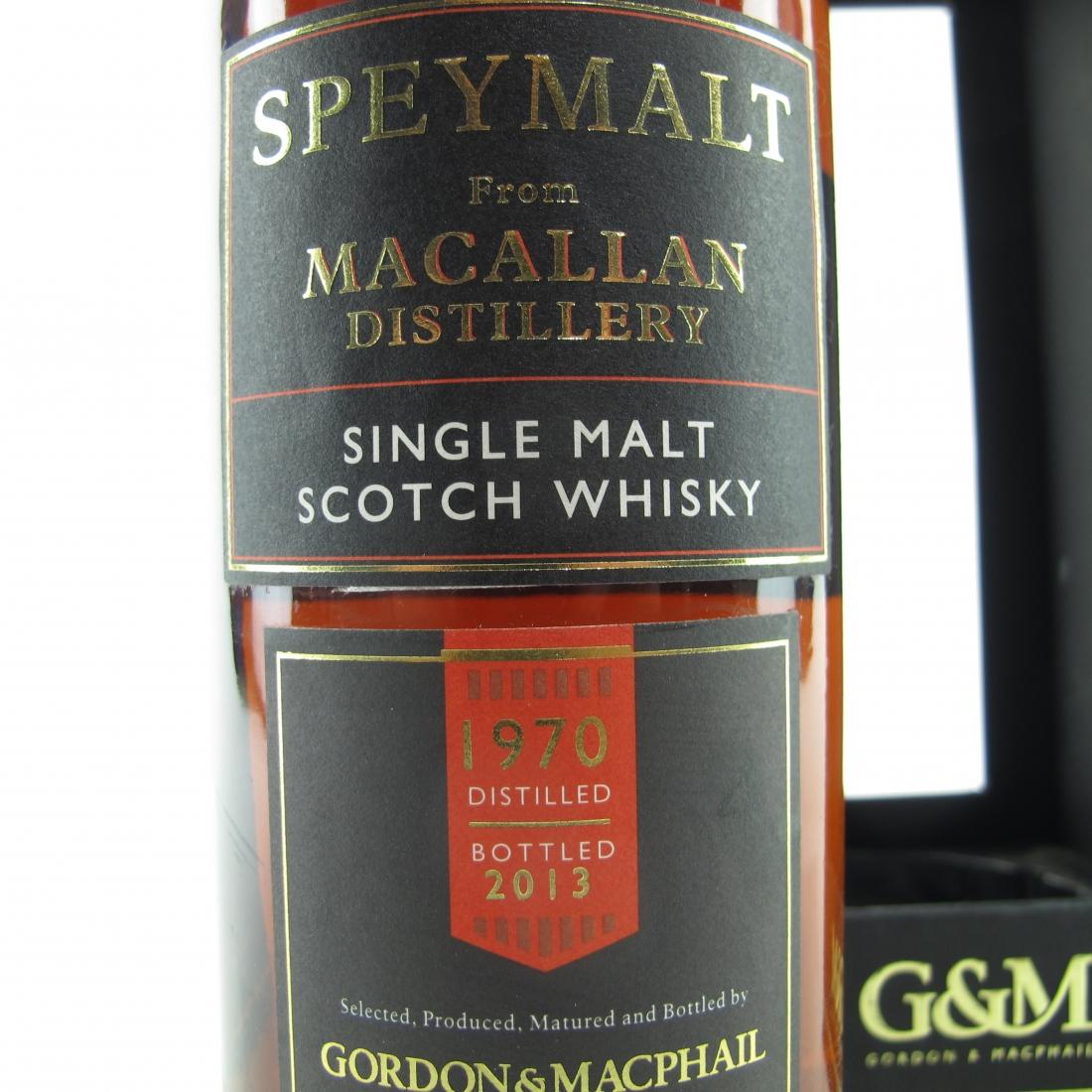 Macallan 1970 Speymalt Gordon and MacPhail 75cl / US Import