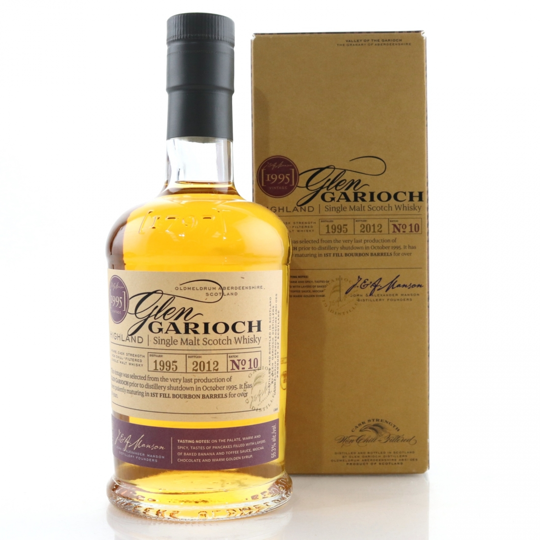 Glen Garioch 1995 1st Fill Bourbon Barrel 16 Year Old
