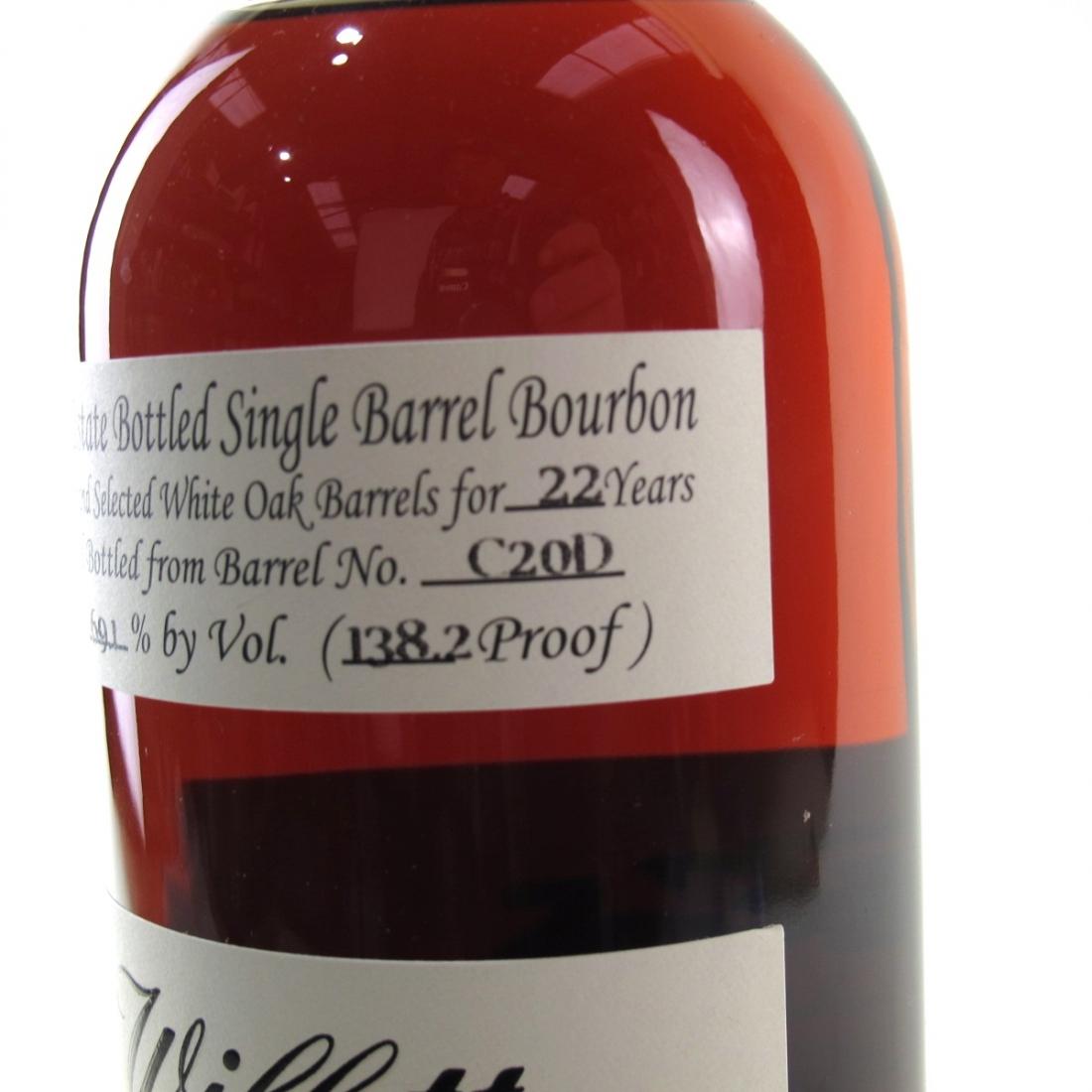 Willett Family Estate 22 Year Old Single Barrel Bourbon #C20D