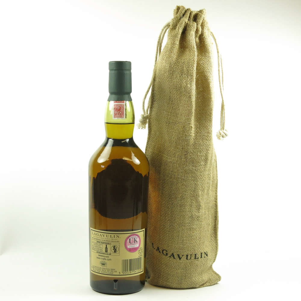Lagavulin 1991 Feis Ile 2015 24 Year Old Back