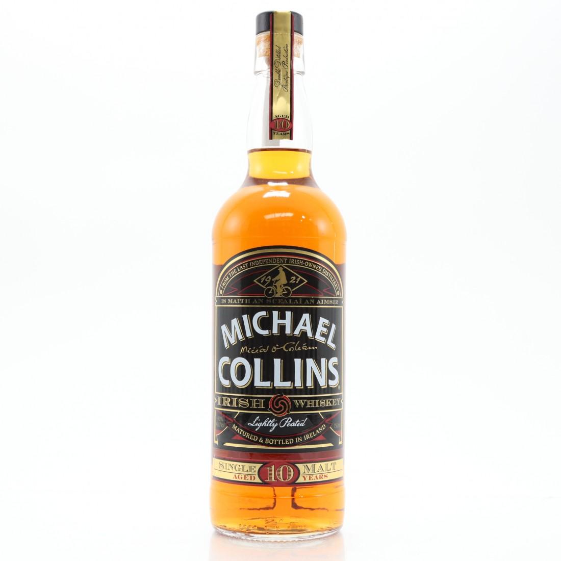 Michael Collins 10 Year Old Lightly Peated Single Malt Irish Whiskey