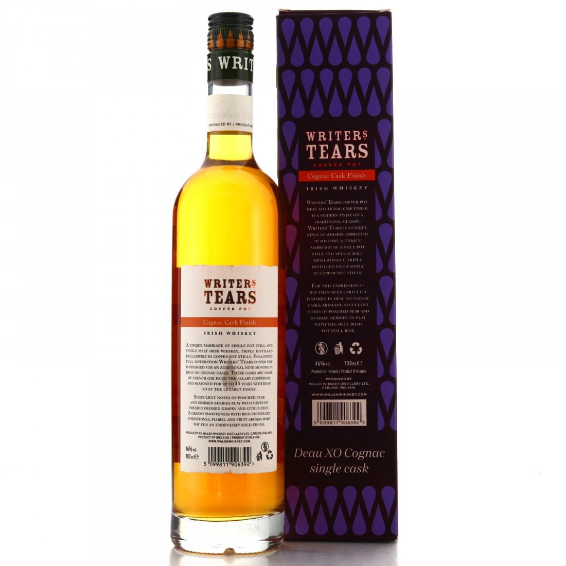 Writer's Tears Single Cask #6428/ Deau XO Cognac Cask Finish