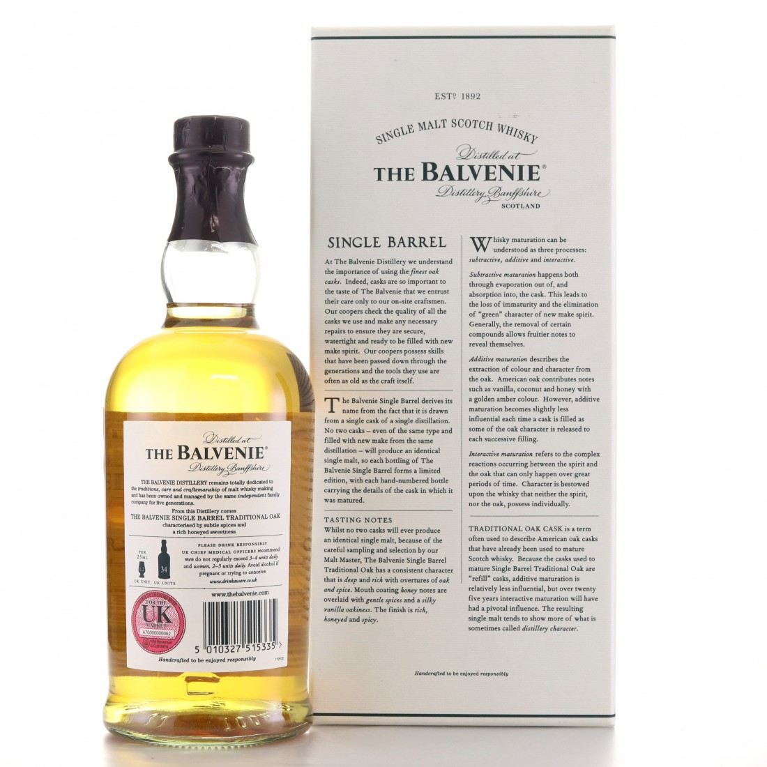 Balvenie 1989 Single Barrel 25 Year Old #1869