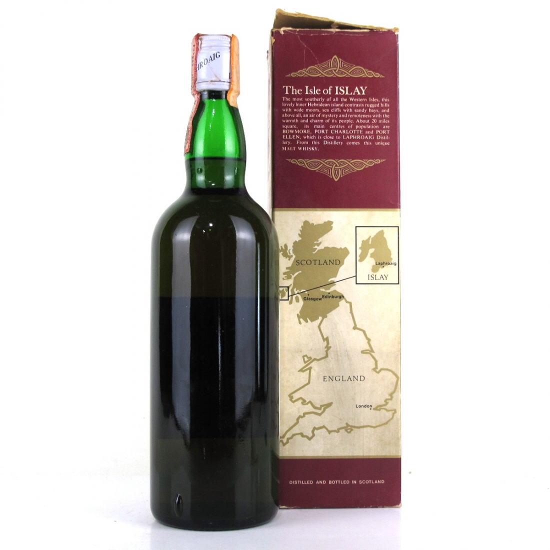 Laphroaig 10 Year Old 1980s / Bonfant Import