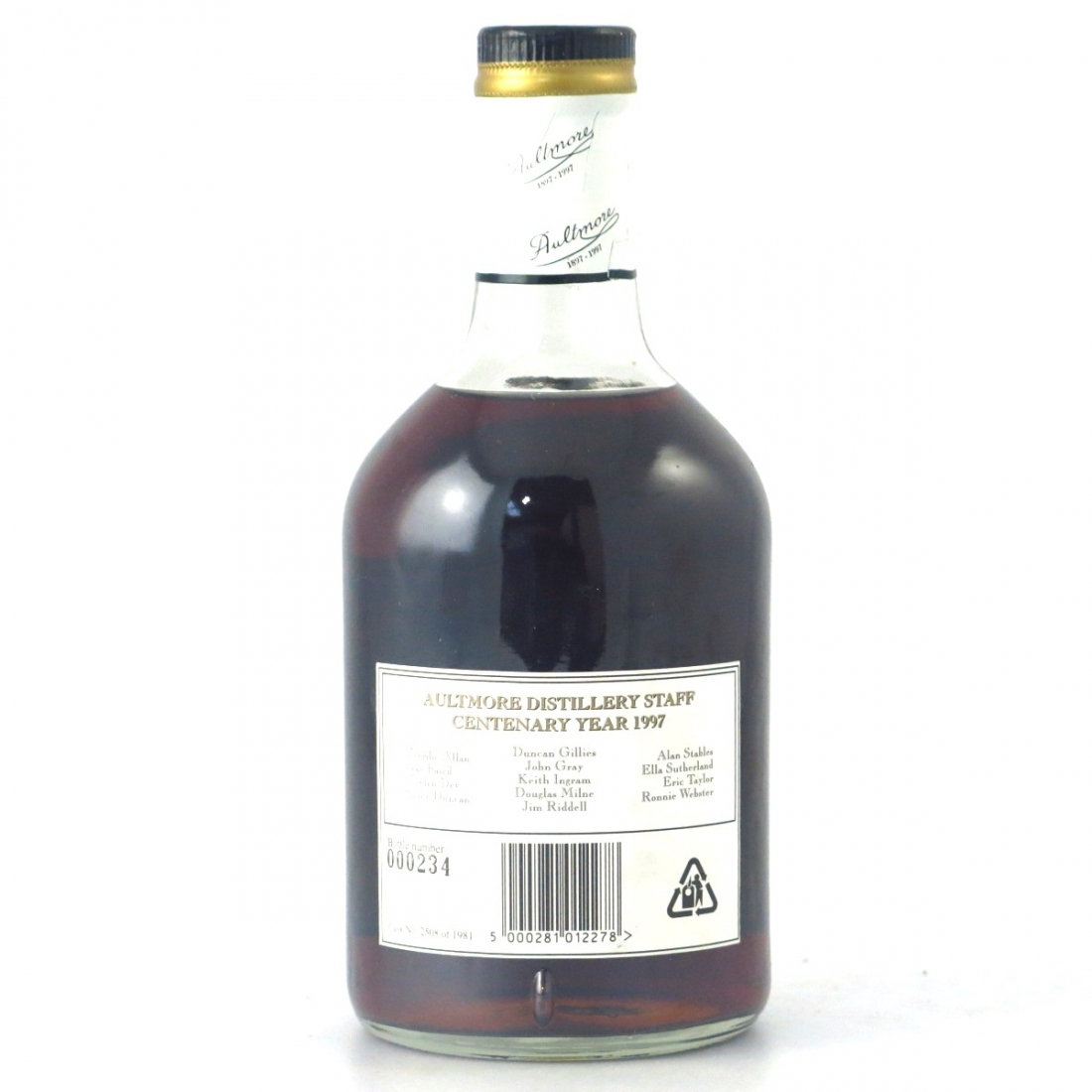 Aultmore 16 Year Old Centenary Edition