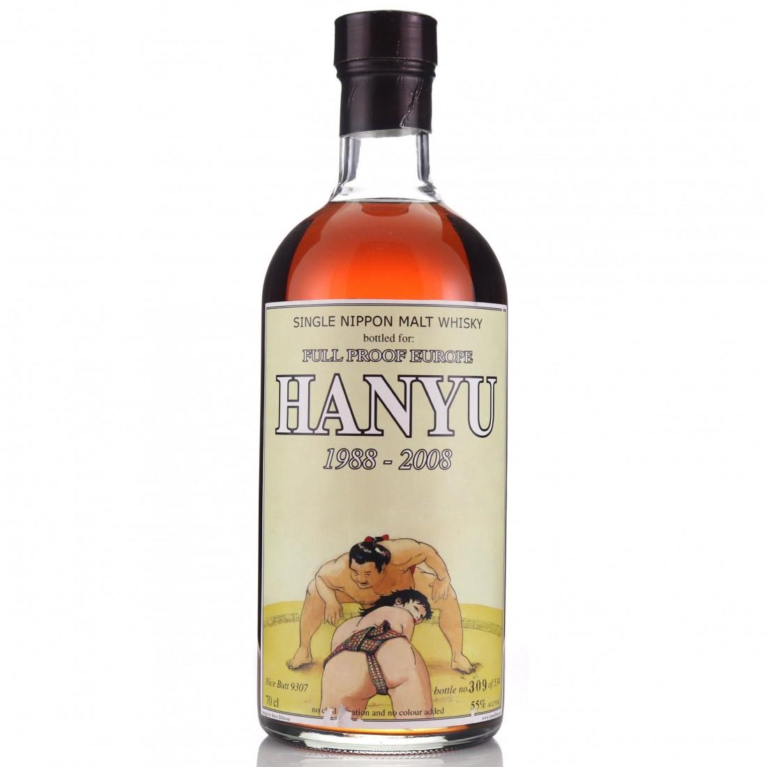 Hanyu 1988 Full Proof 'Nice Butt' Single Cask #9307