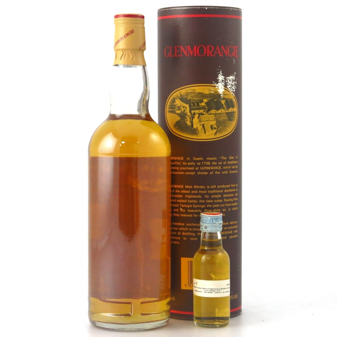 Glenmorangie 10 Year Old 1980s / with Miniature 5cl