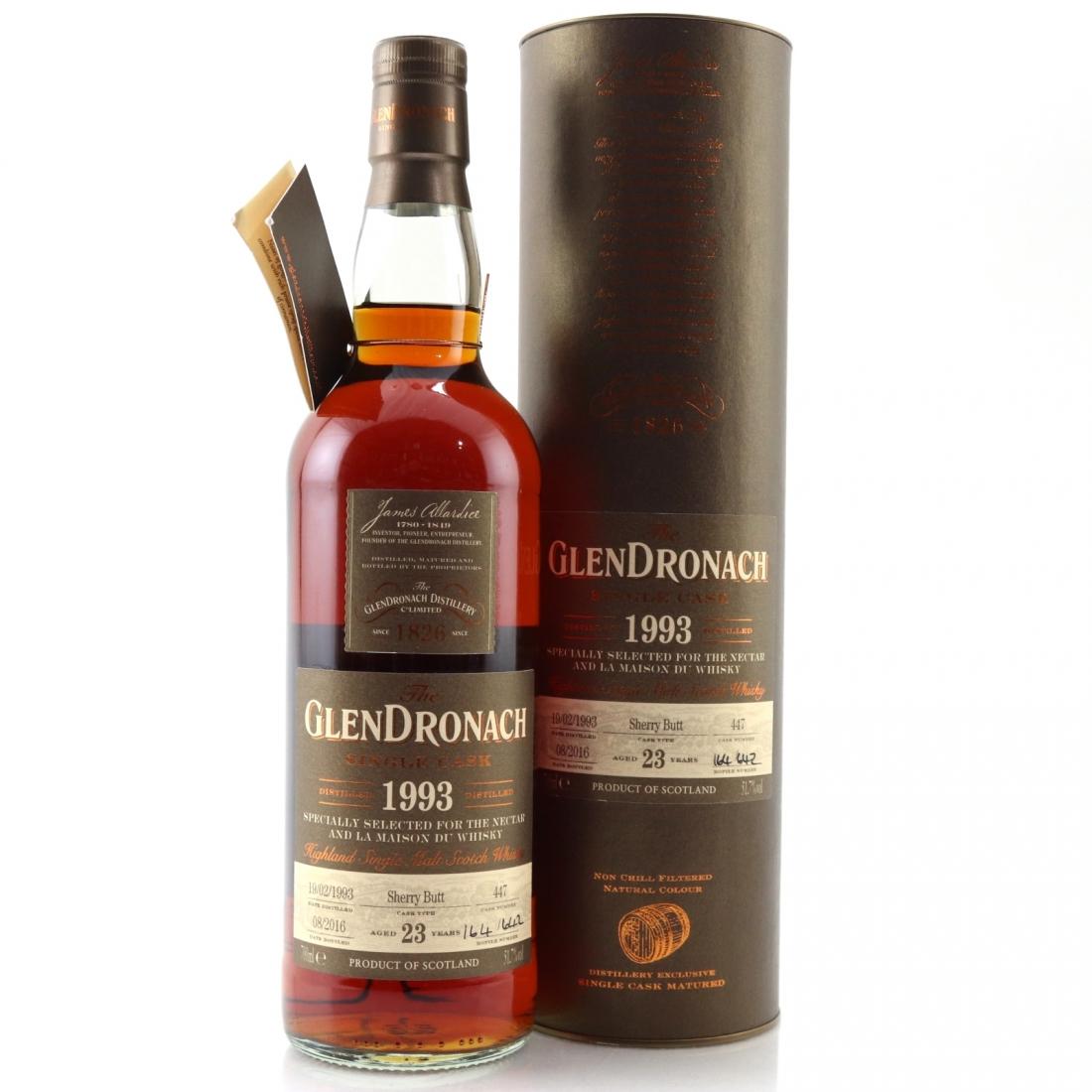 Glendronach 1993 Single Cask 23 Year Old #447