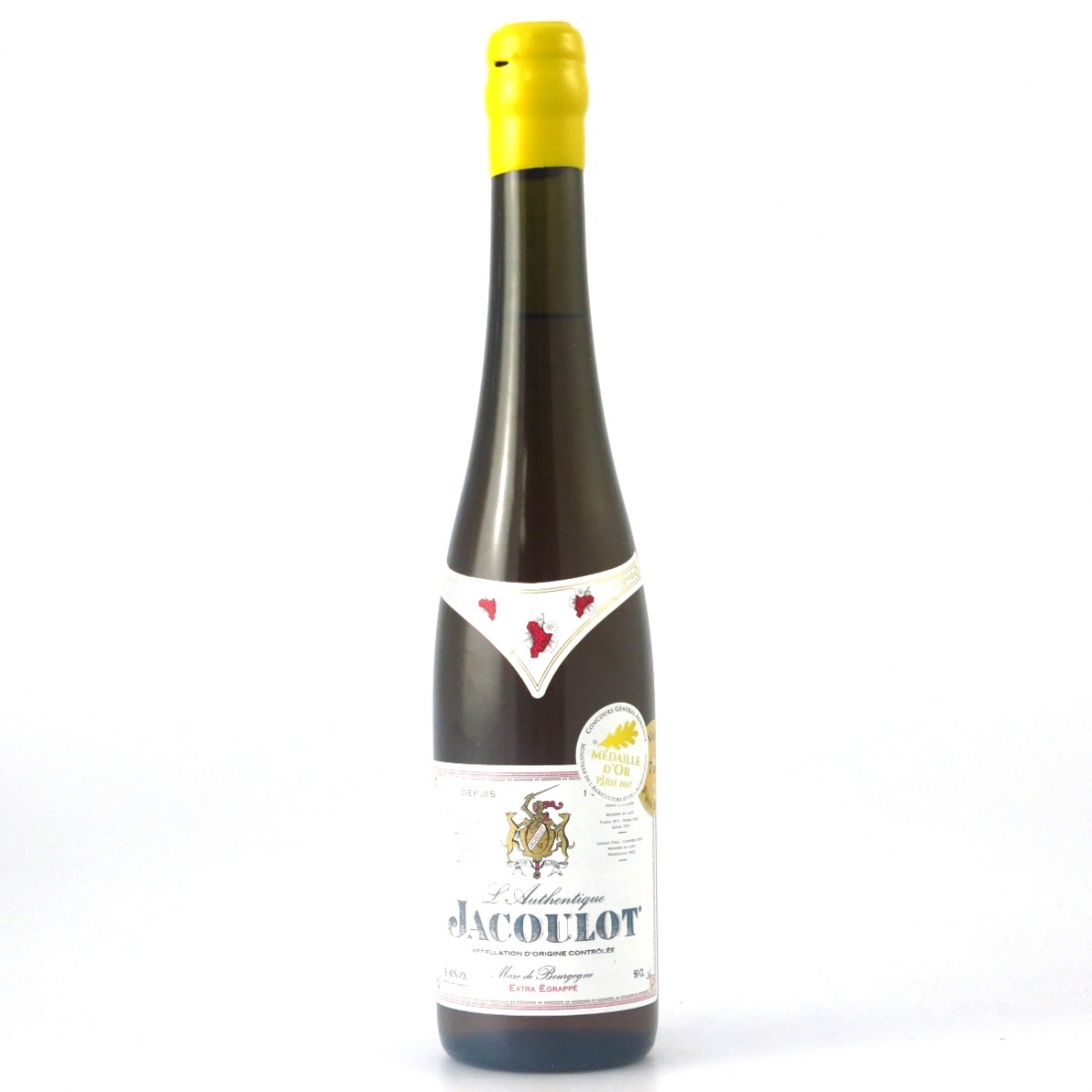 Vincent Jacoulot 7 Year Old Fine Bourgogne Brandy / Extra Egrappa