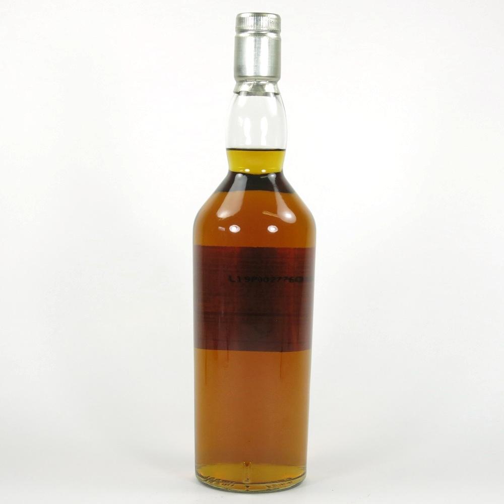 Glen Elgin 19 Year Old Centenary Bottling Back
