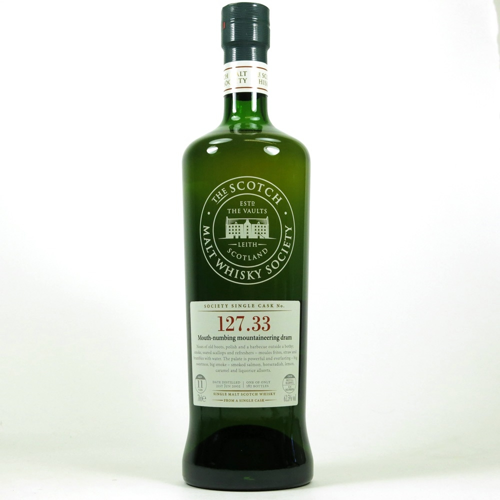 Port Charlotte 2002 SMWS 11 Year Old 127.33