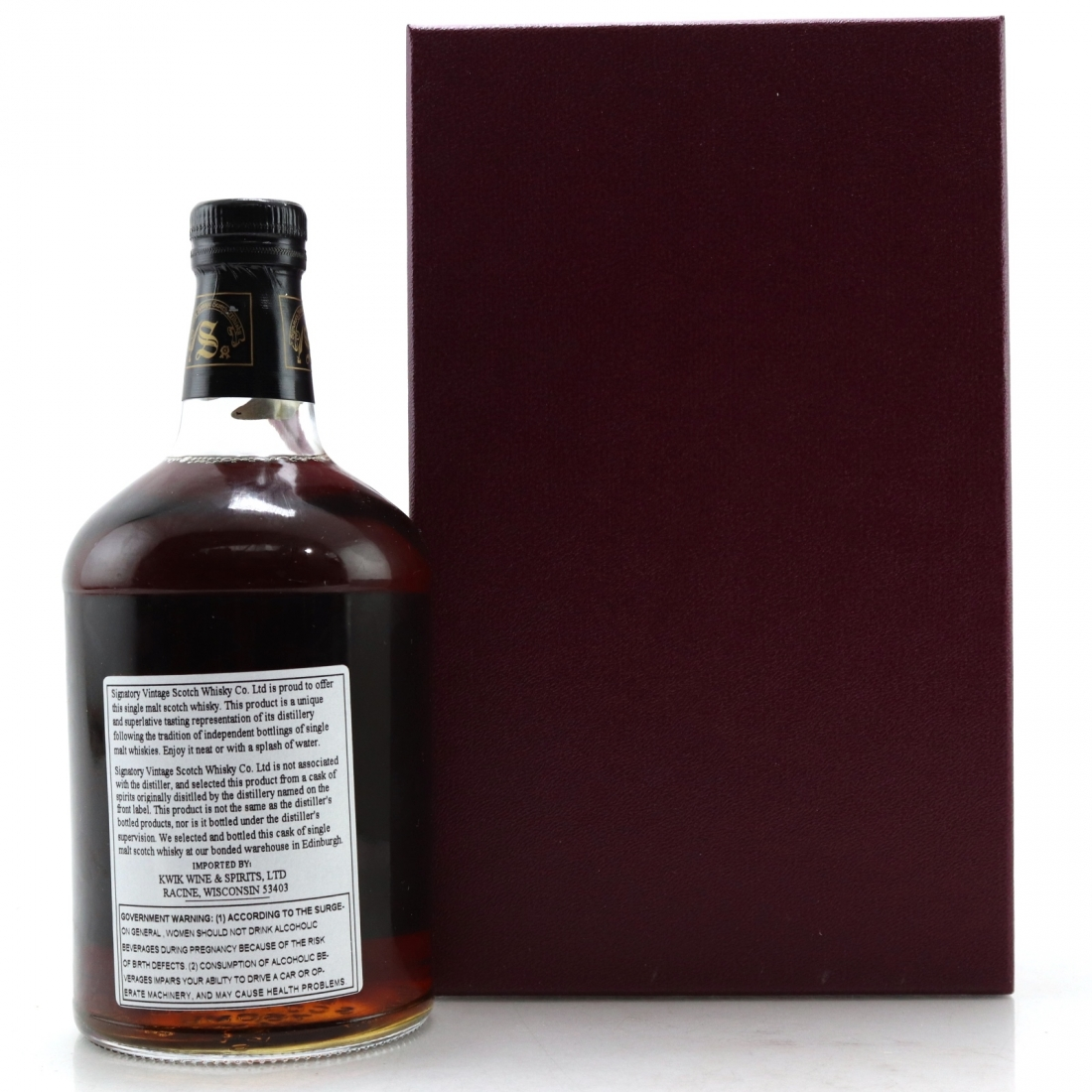 Ardbeg 1967 Signatory Vintage 30 Year Old 75cl / US Import - Sherry Butt #1142