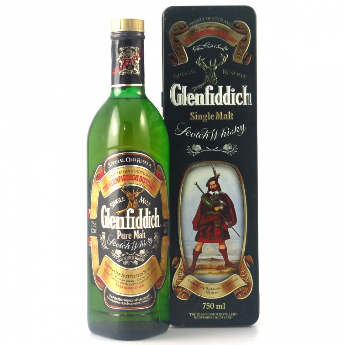 Glenfiddich Clans of the Highlands 75cl / Clan Maclean