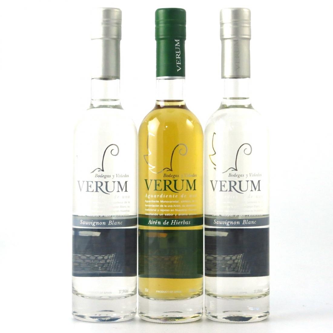 Verum Spanish Brandy 3 x 35cl