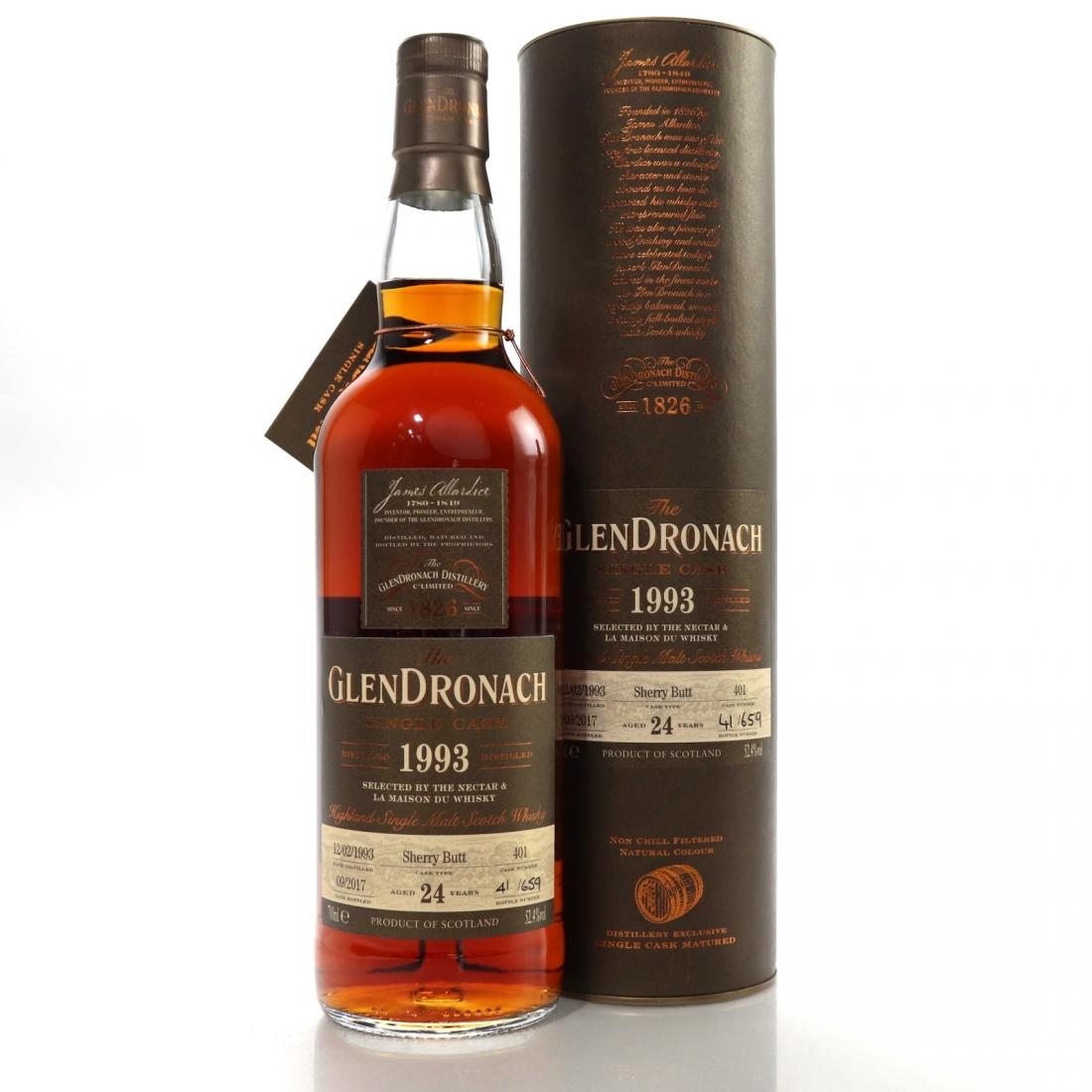 Glendronach 1993 Single Cask 24 Year Old #401 / The Nectar & LMDW