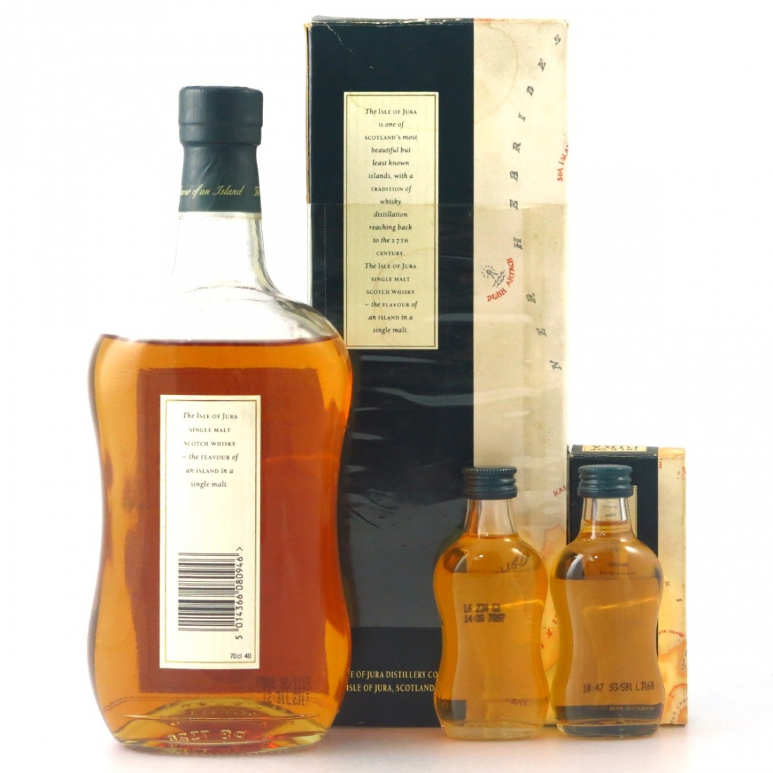 Jura 10 Year Old 1990s / with Miniature 5cl x 2