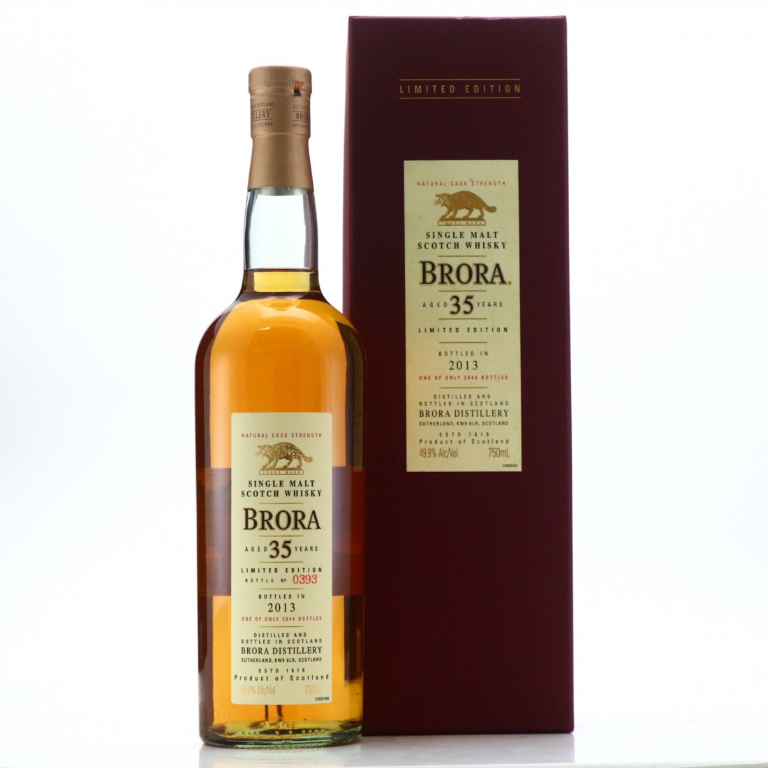 Brora 35 Year Old 2013 Release 75cl / US Import