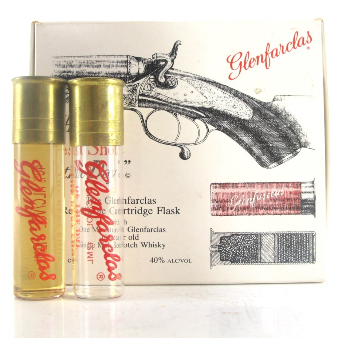 Glenfarclas Best Shot of the Day Cartridge Flask x 2