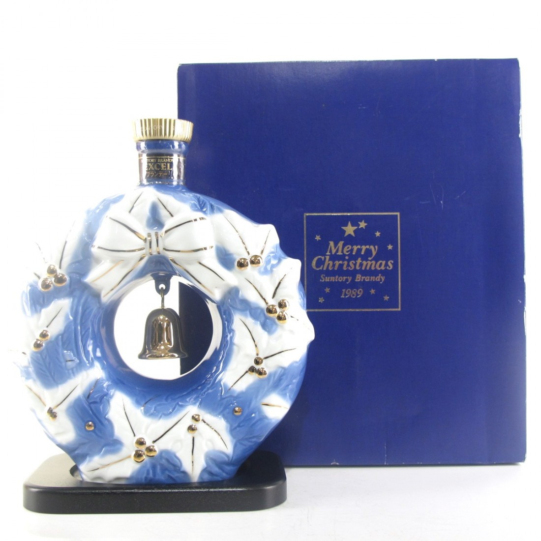 Suntory Brandy Excel Christmas Decanter