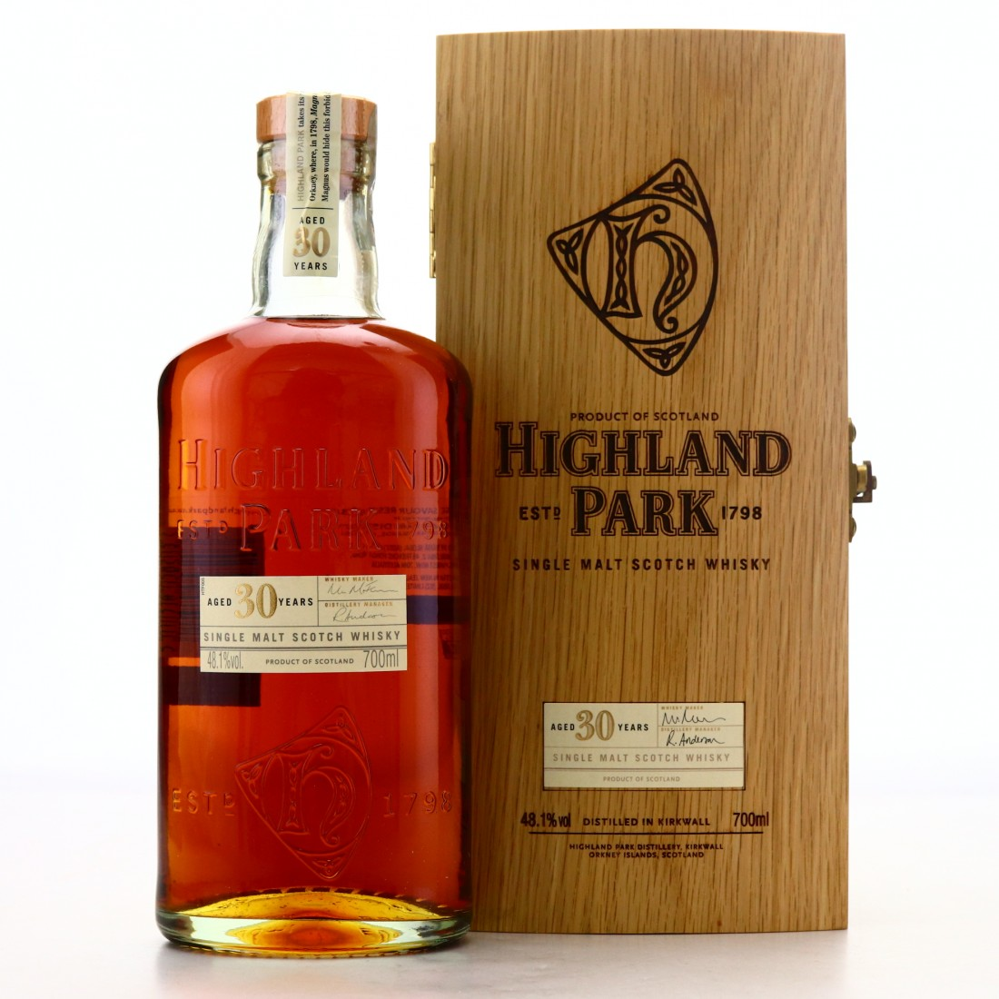 Highland Park 30 Year Old / 48.1%