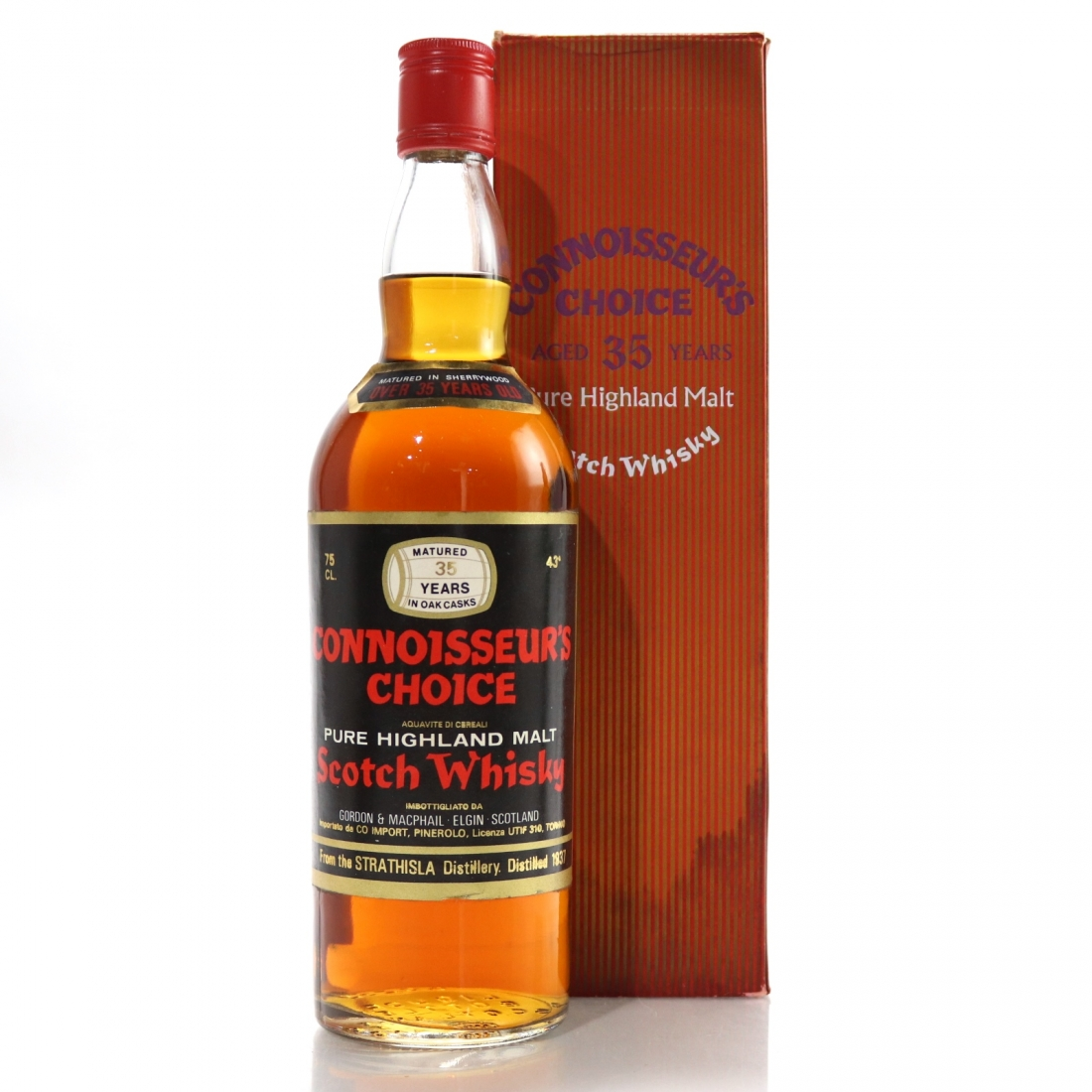 Strathisla 1937 Gordon and MacPhail 35 Year Old / Pinerolo