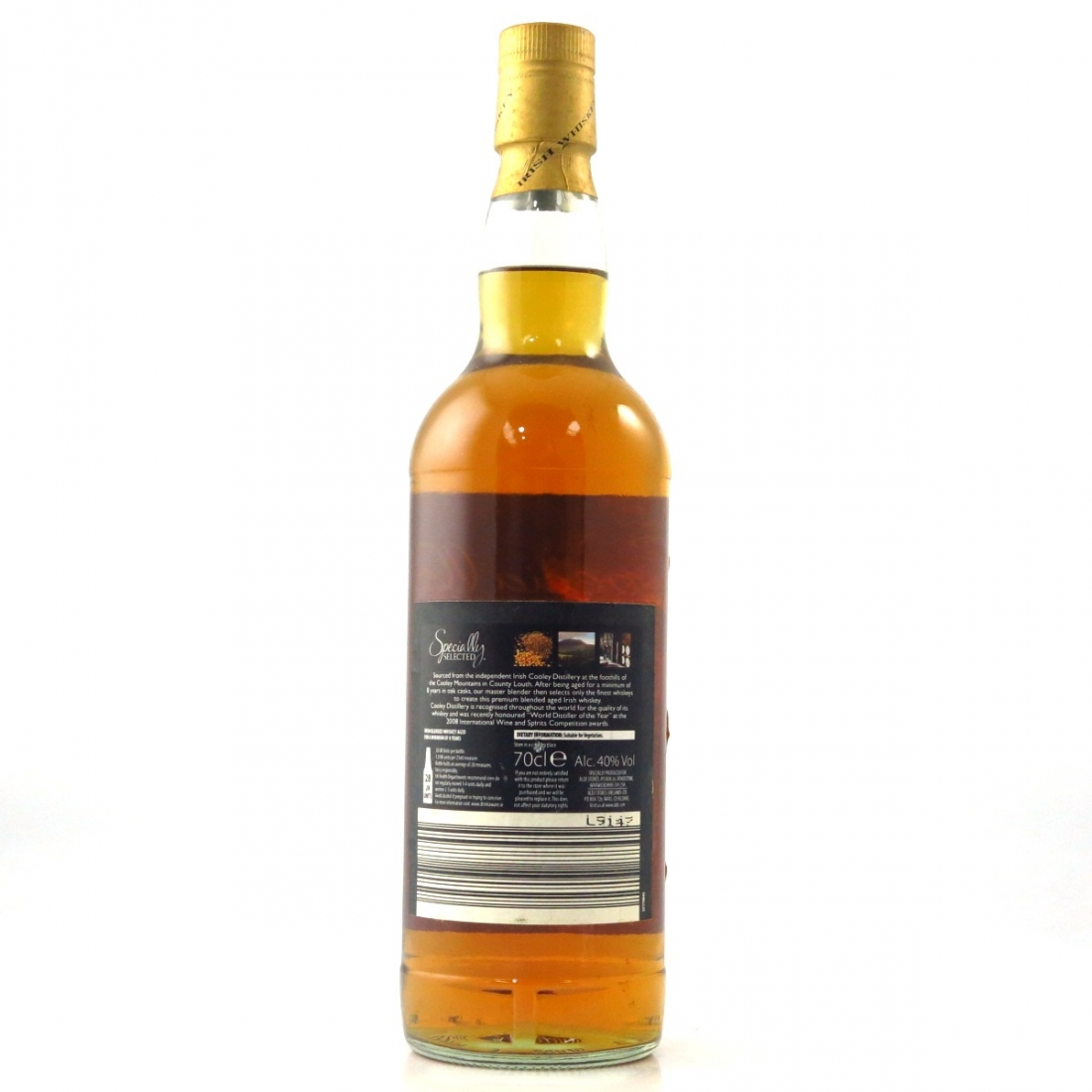 Cooley 8 Year Old Specially Selected Irish Whiskey