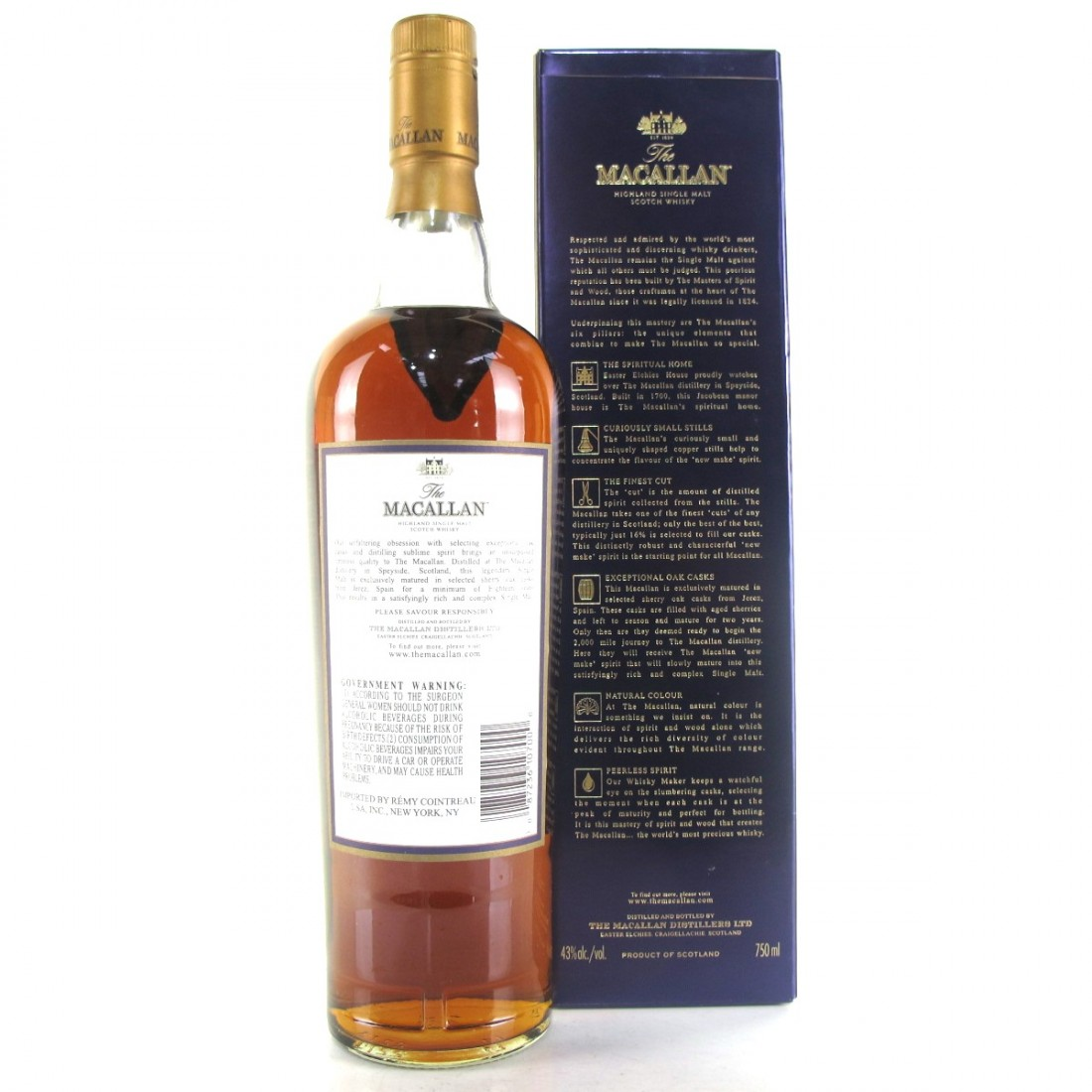 Macallan 18 Year Old 1989 75cl / US Import