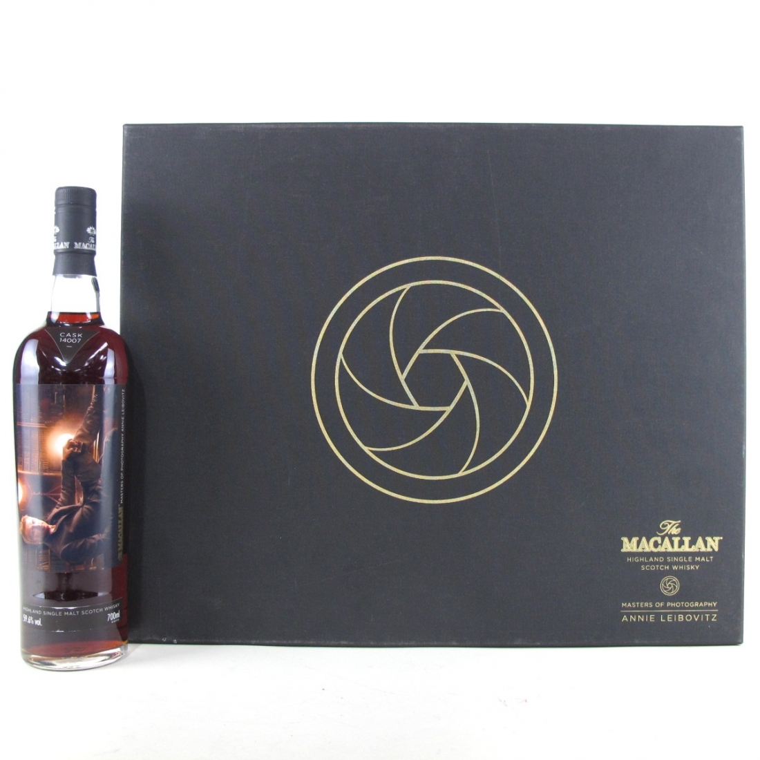 Macallan 1995 Masters of Photography Annie Leibovitz 'The Library' / Single Cask #14007