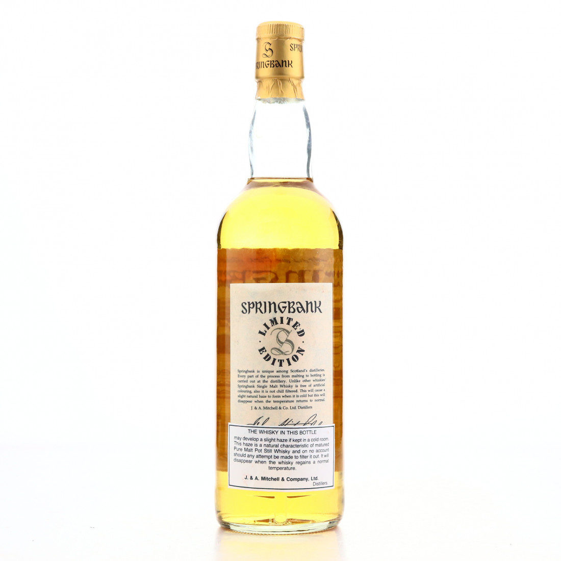 Springbank 50 Year Old Millennium Limited Edition
