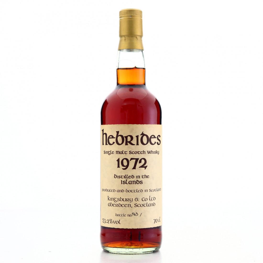 Talisker 'Hebrides' 1972 Kingsbury 28 Year Old / Celtic Label
