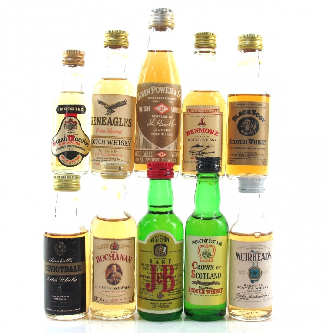 Miscellaneous Blended Miniature Selection x 10