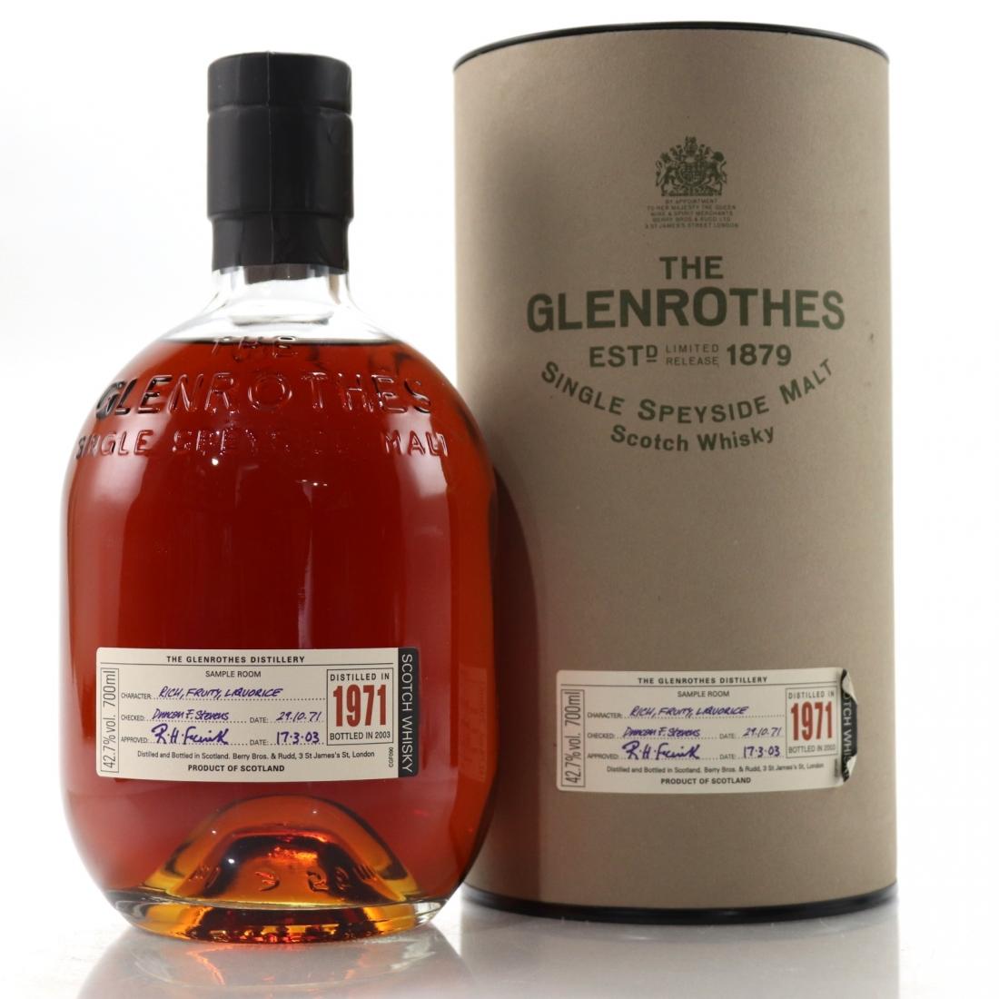 Glenrothes 1971