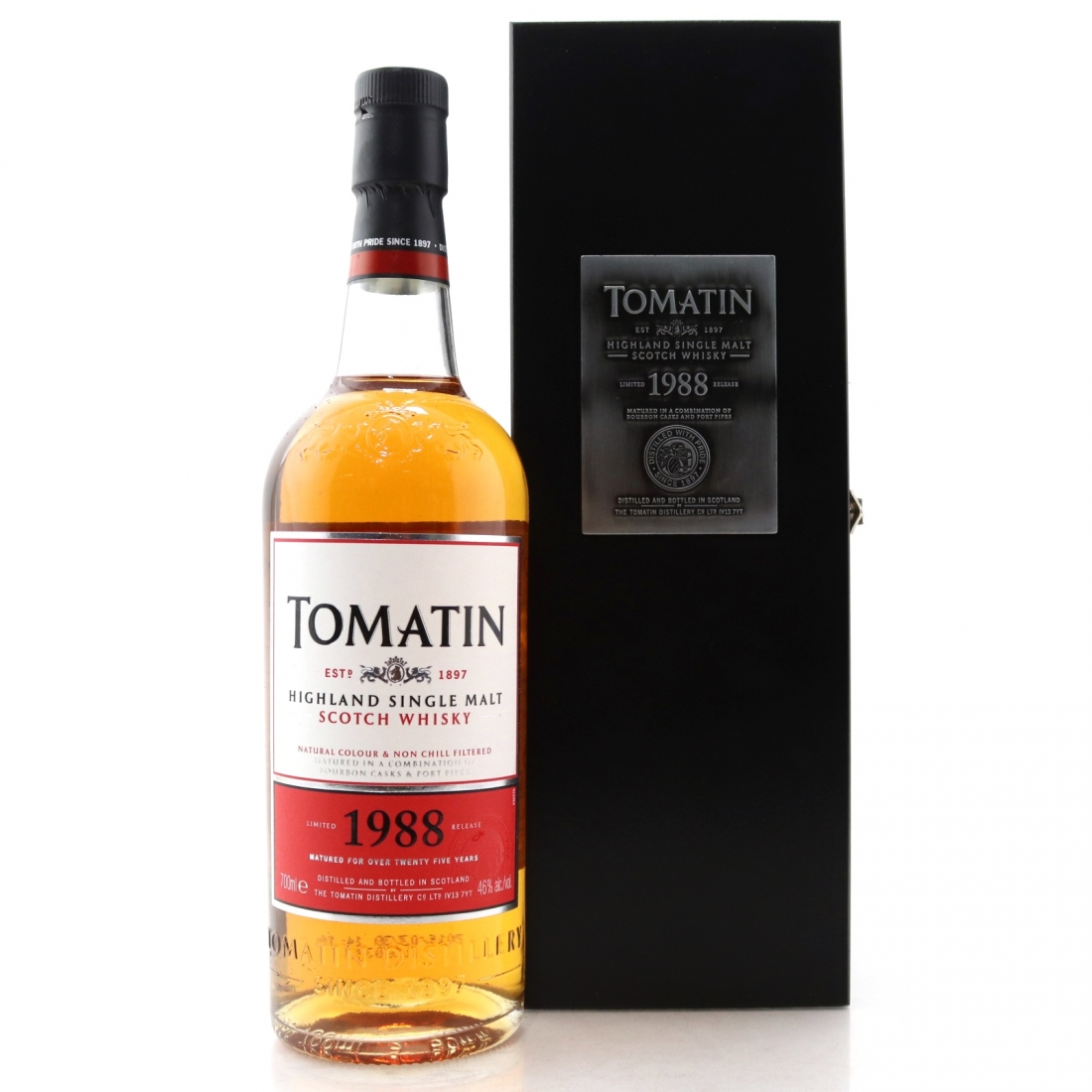 Tomatin 1988 25 Year Old Batch #2