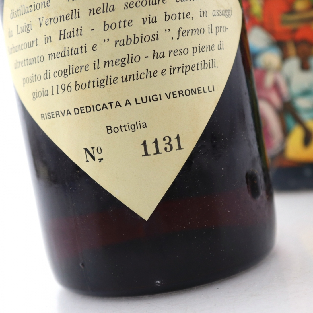 Barbancourt 25 Year Old Reserve Veronelli Rum 1960s / Bonfanti Import