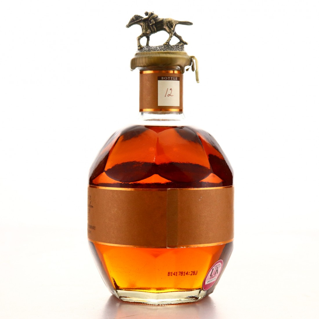 Blanton's Straight from the Barrel Dumped 2014