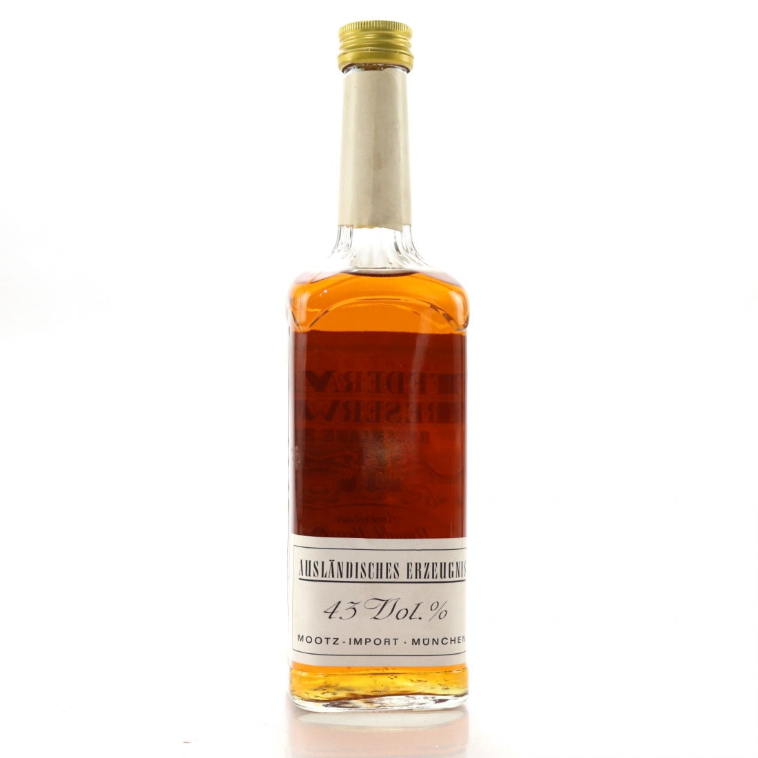 Federal Reserve 1950 Green Label 20 Year Old Straight Bourbon / Mootz Import