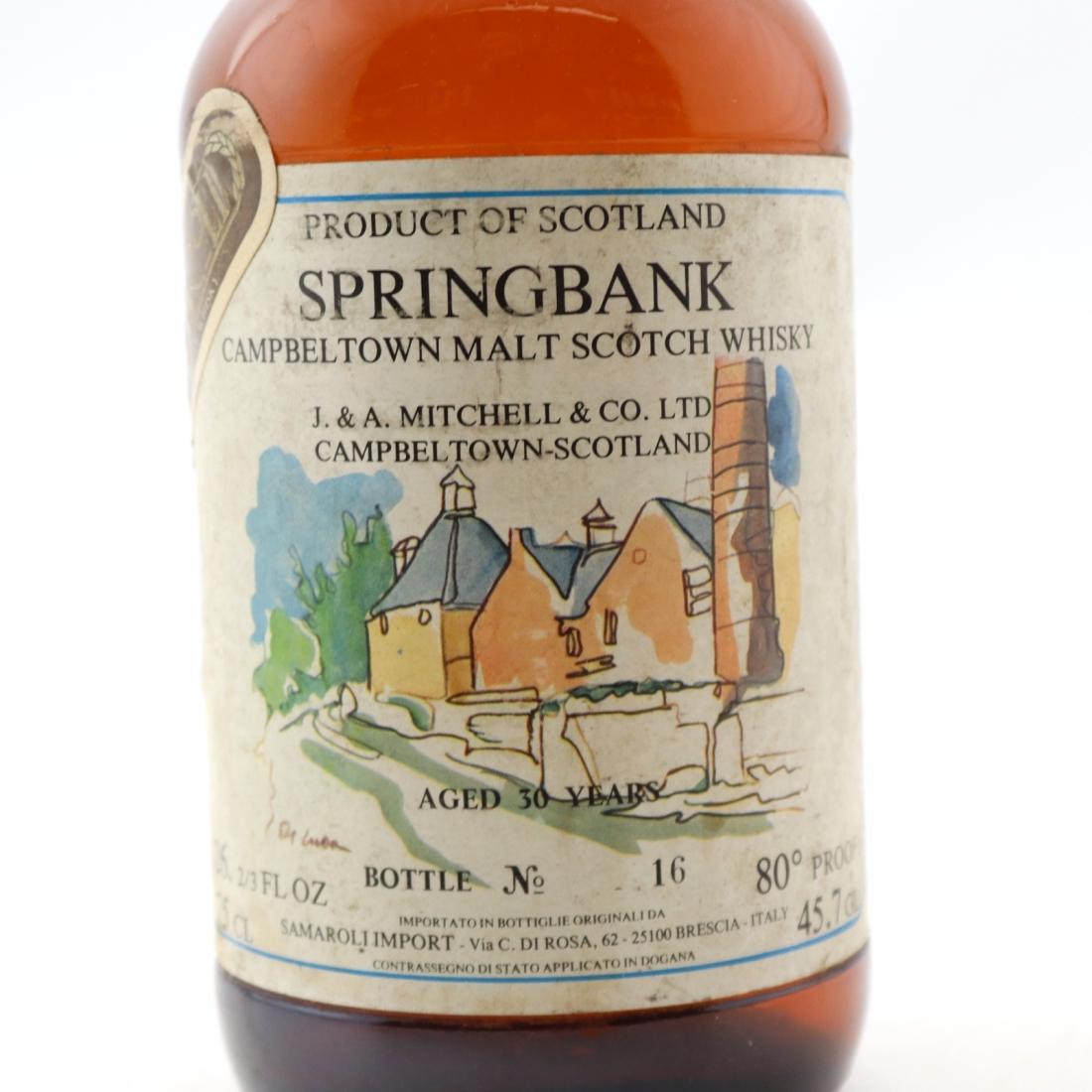 Springbank 30 Year Old Samaroli / Cadenhead's 1979