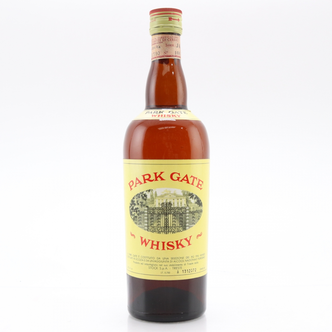 Park Gate Whisky circa 1960s