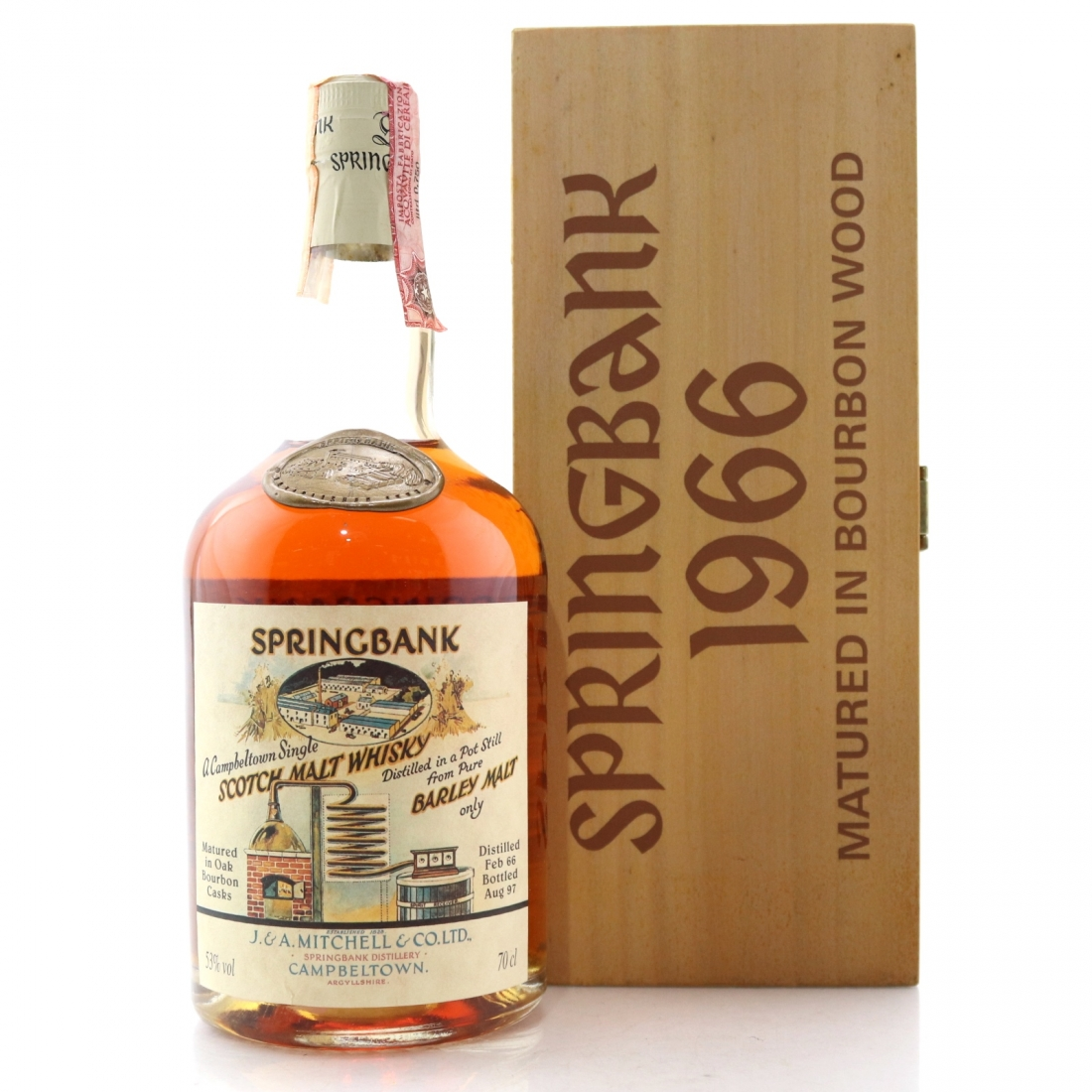 Springbank 1966 Bourbon Cask 31 Year Old #484 / Local Barley